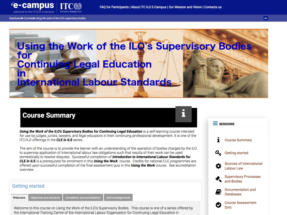 Continuing Legal Education in ILS