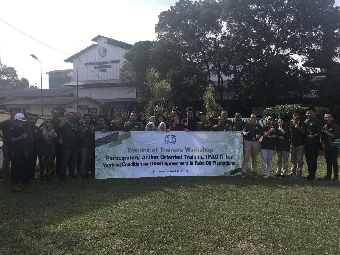 PAOT for Working Conditions and OSH Improvement in Palm Oil Plantations