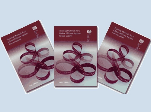 Training materials on a Global Alliance Against Forced Labour